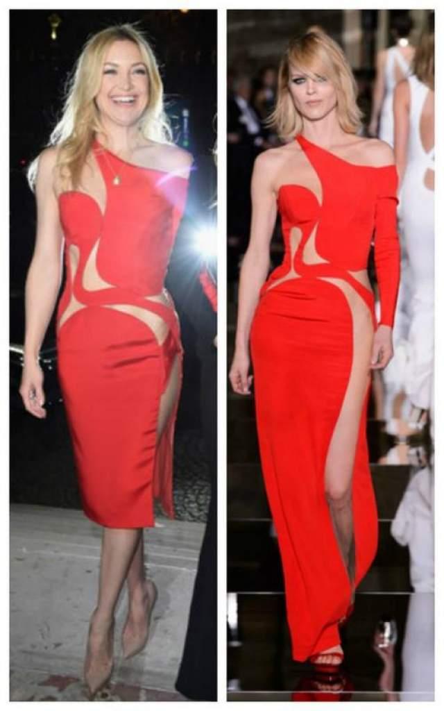 Кейт Хадсон в наряде из коллекции Versace Atelir SS 2015