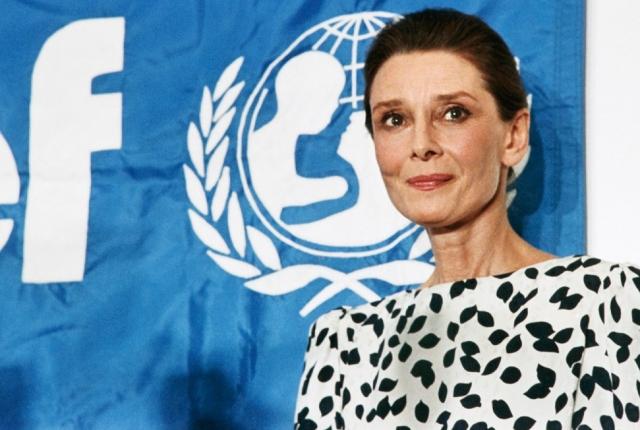 Вскоре после «выхода на пенсию» Хепберн была назначена специальным послом ЮНИСЕФ.
