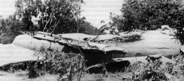 Экипаж из-за изменившейся в полёте воздушной обстановки совершил резкий манёвр и вышел из облачного слоя, пикируя практически вертикально. Несмотря на попытки летчиков, самолет столкнулся с землёй и экипаж погиб.