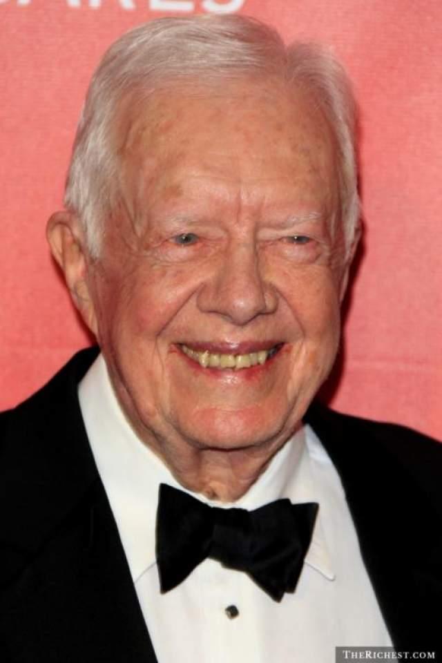 Джимми Картер, 95 лет 39-й президент США. Лауреат Нобелевской премии мира 2002 год.