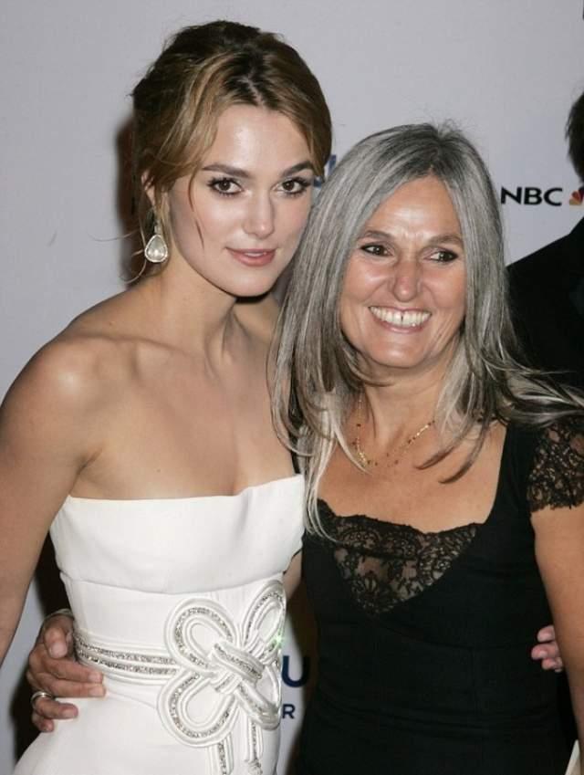 Кира Найтли и мама Шерман Макдональд. Мама знаменитой Голливудской актрисы считает, что внешность - отражение внутреннего мира, поэтому все, что нужно с собой делать - это излучать позитив.