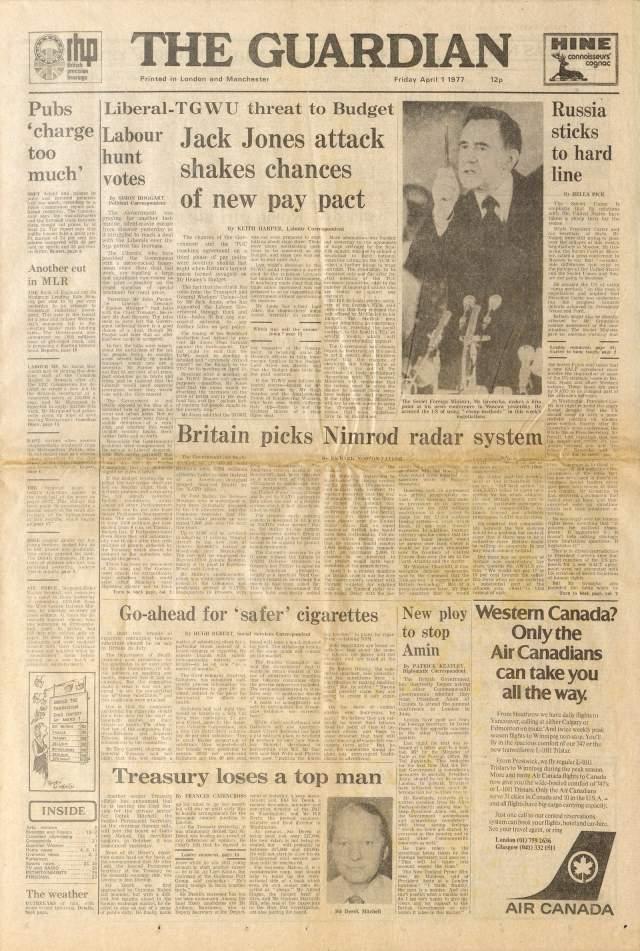Райская страна. В 1977 году британская The Guardian опубликовала небольшую брошюру на семи страницах, где был напечатан рассказ о маленькой республике San Serriffe, расположенной на нескольких островах в Индийском океане.
