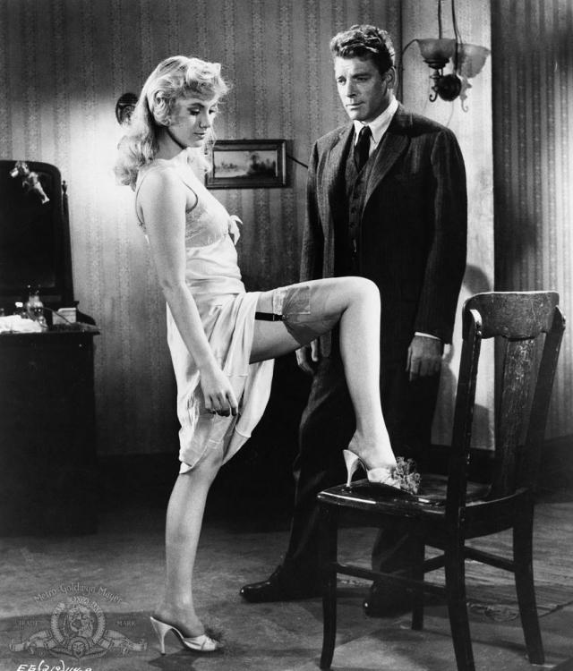 """Ширли Джонс, фильм """"Элмер Гантри"""". Актриса играет Лулу Бейнс - девушку легкого поведения."""