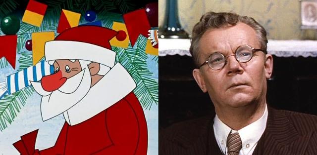 """""""Дед Мороз и лето"""", 1969 год. Дед Мороз - Евгений Шутов."""