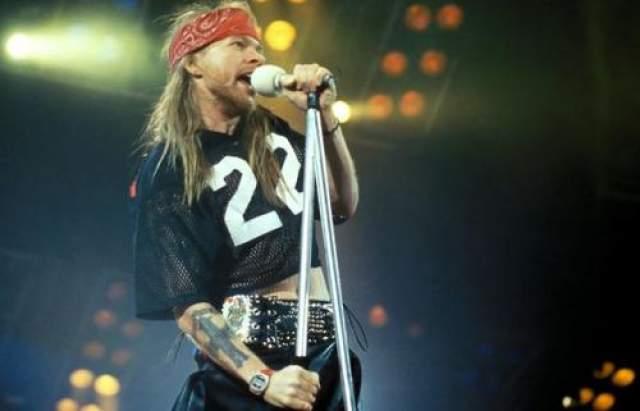 Аксель Роуз Вокалист популярной рок-группы Guns N'Roses.