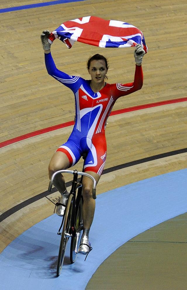 Виктория Пендлтон. Неоднократная олимпийская чемпионка велотрека всегда считалась необыкновенно привлекательной спортсменкой.