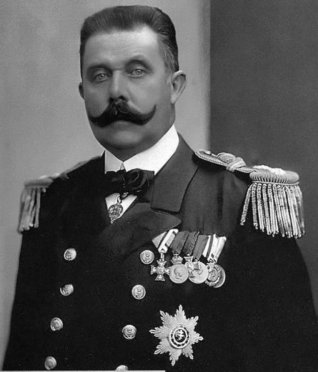 Франц Фердинанд. 28 июня 1914 года в Сараево 19-летний студент Гаврило Принсип оказался там же, куда, якобы, по ошибке заехала машина с эрцгерцогом и наследником престола Австро-Венгрии.