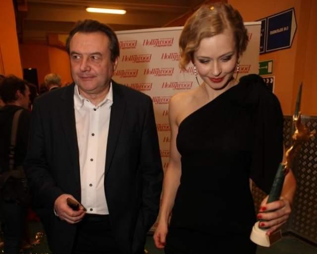 """В 2010 году Юлия снялась в одной из главных ролей в фильме """"Край"""" режиссера Алексея Учителя. Об отношениях молодой актрисы и режиссера, который старше Персильд на 33 года, было известно лишь в узком кругу, но после появления р=детей - все стало еще более очевидным."""