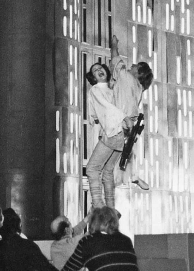 Новаторские спецэффекты 70-х и 80-х годов иногда рождались благодаря актерской импровизация прямо во время съемок.