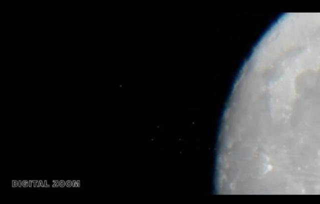 15 сентября 2012 года один из астрономов-любителей опубликовал в Сети видео, на котором можно разглядеть, как целая стая маленьких светящихся объектов, отрывается от поверхности одного из кратеров.