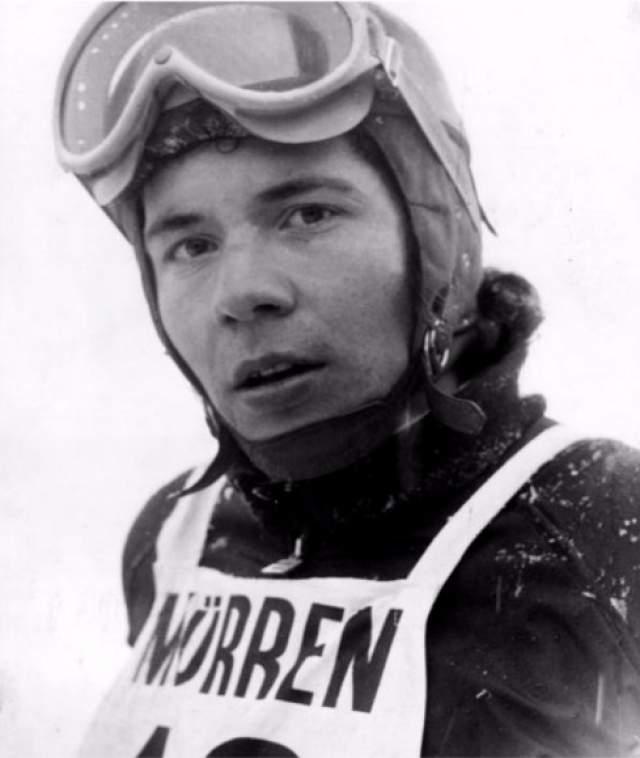 Эрика Шинеггер (Эрик Шинеггер). 1948 г.р. Австрия. Горнолыжница.