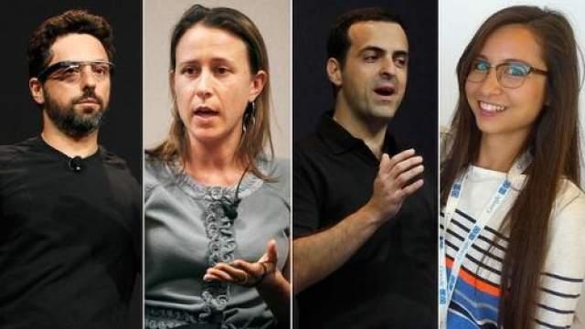 """Семья у предпринимателя появилась, когда тот уже был известным и обеспеченным. Женой программиста стала выпускница Йельского университета по направлению """"Биология"""" и основательница собственной компании """"23andMe"""" Анна Войжитски."""