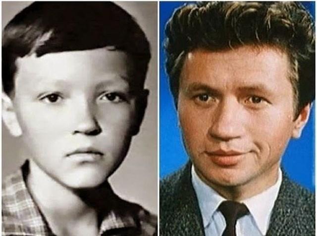 Таким печальным мальчиком был актер Леонид Быков .
