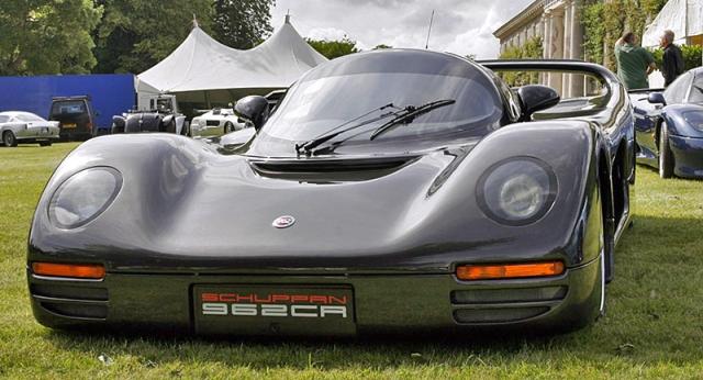 Schuppan 962CR Porsche 3.3 litre Porsche - $3 000 000. Автомобиль, построенный бывшим гонщиком Ле-Мана. После двух лет работы и огромных инвестиций, было сделано только 5 машин из первоначально запланированных 50-ти, что сказалось на стоимости.