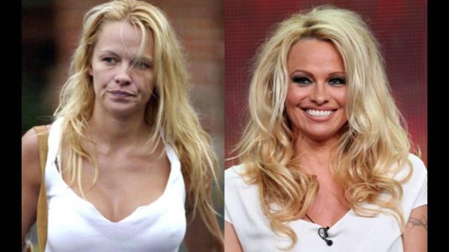 Памела Андерсон. Звезда Playboy до сих пор участвует в откровенных фотосессиях, хоть ей уже и стукнуло 50.