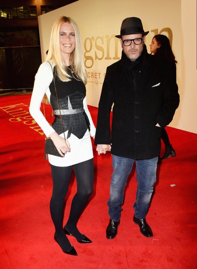 Клаудия Шиффер и Мэтью Вон. Настоящую любовь супермодель встретила в 2001 году: ее избранником стал продюсер и режиссер Мэтью Вон.