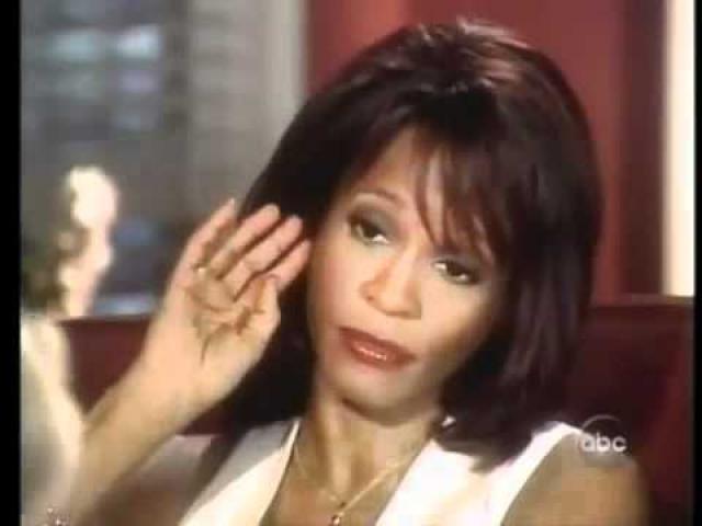 """Так, на вопрос о том, употребляет ли она крэк, Хьюстон ответила: """"Прежде всего, давайте проясним одну вещь. Крэк дешевый. Я зарабатываю слишком много, чтобы курить крэк. Давайте уясним это. Окей? Мы не употребляем крэк. Мы не употребляем его. Крэк - это крах"""" ."""