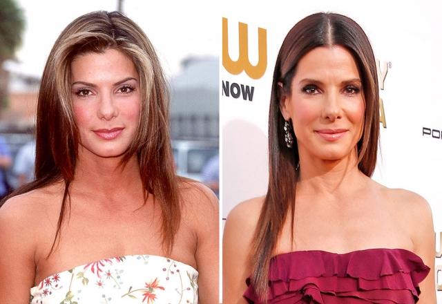 Сандра Буллок. Актриса блестяще выглядит в 51 год.