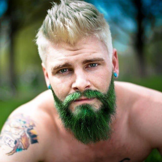 16.Бороды разных цветов