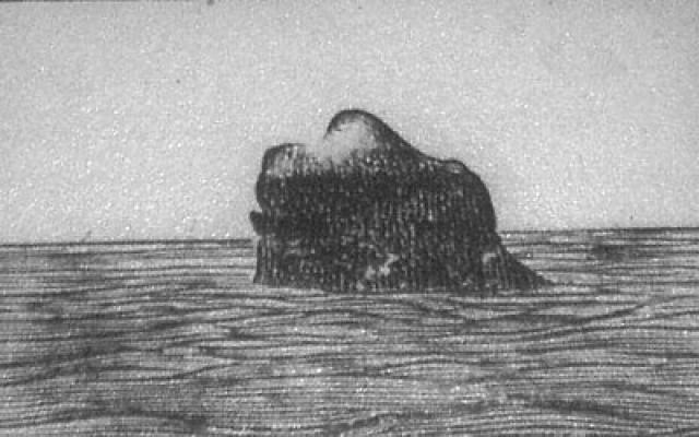 """По правому борту предстал """"Гранитный Клык"""". Но пассажирам было уже не до чудес природы. На пароходе все поняли, что случилось что-то страшное, непоправимое."""
