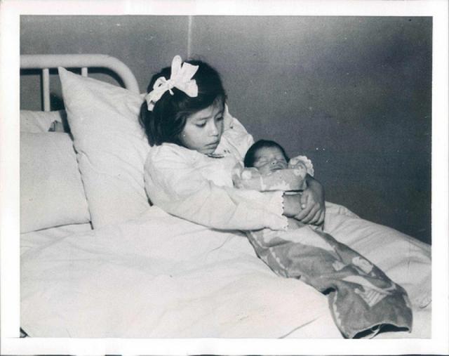 Сын Лины при рождении весил 2,7 кг и был назван в честь Херардо, доктора, принимавшего роды.
