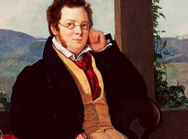 Франц Шуберт, композитор-самоучка. Автор множества песен, опер, сонат и месс, но современники о большинстве из них не знали. Только после смерти прозвучала и его Девятая симфония.