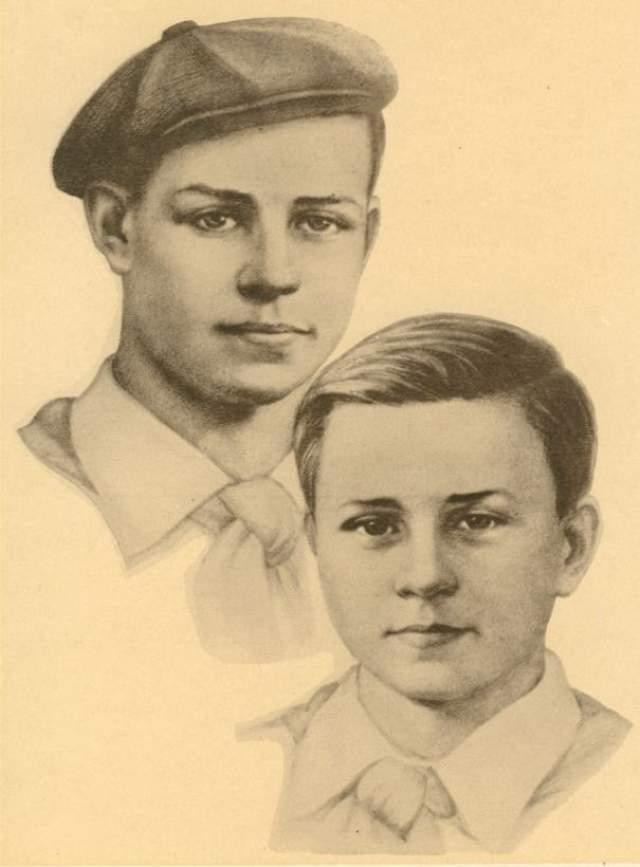 Мальчики сверток замаскировали бамбуковой палочкой и отправились в путь. Они шли пешком, прятались в немецких эшелонах, добирались на лодках и вплавь, и дошли до цели.