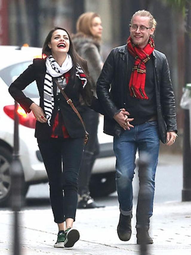 Пара начала встречаться в 2002 году, но несмотря на длительные отношения, Мила Кунис бросила своего бойфренда из-за его неспособности отказаться от приема наркотиков.