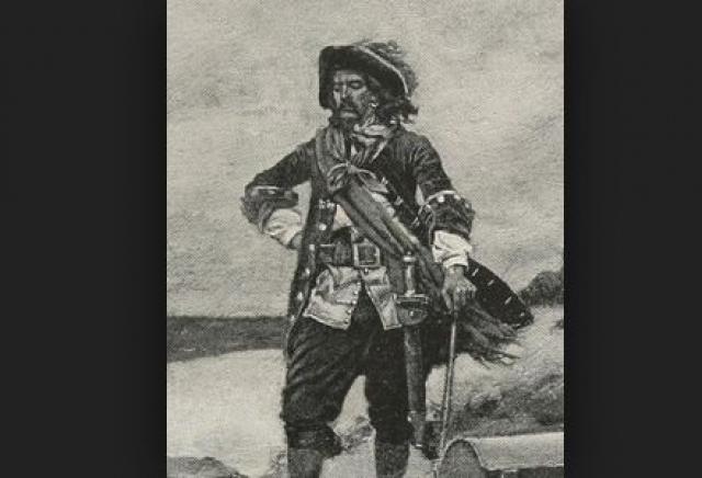 """В 1689 году, Уильям с помощью предательства завладел фрегатом, назвав его """"Благословенный Уильям"""", поучаствовав на нем в войне против французов."""