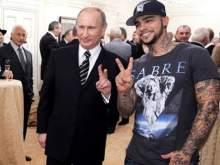 Новое фото Путина и Тимати за неделю собрало более 1,3 млн