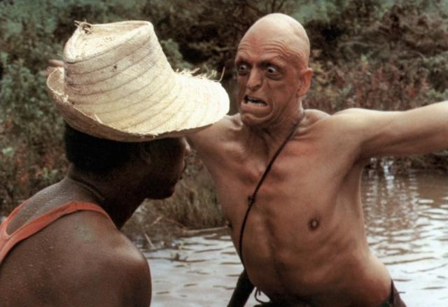 """Собственно, на подобных ролях Берриман и специализируется. Культовый ужастик """"И у холмов есть глаза"""" 1977 года сделал его главным киномонстром Голливуда, """"Звездный путь"""" и """"Байки из склепа"""" ангажировали его сразу на несколько сезонов."""