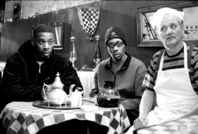 GZA, RZA (Wu-Tang Clan) и Билл Мюррей