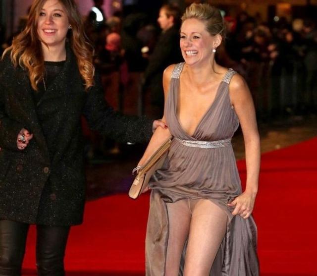 """Келли Ширли. 31-летняя актриса попала в просак на премьере фильма """"Беги за женой""""."""