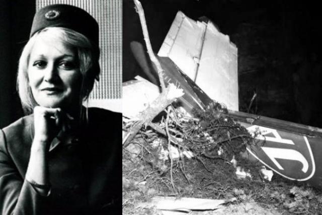 26 января 1972 года югославский пассажирский самолет Douglas DC-9 взорвался в воздухе рядом с деревней Сербска Каменице в Чехословакии на высоте 10 160 метров.