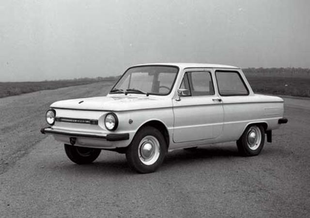 ЗАЗ-968 , обладал уже привычным нам внешним видом и развивал максимальную скорость 120 км/ч.