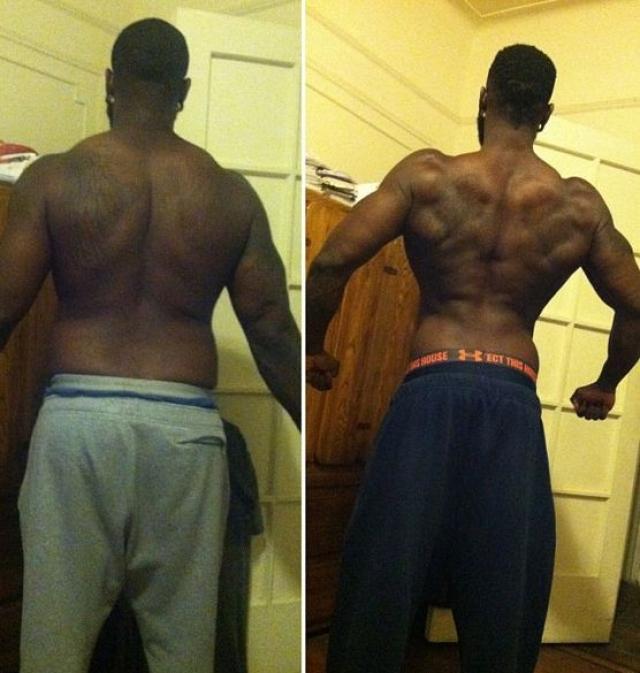 В результате спортсмен набрал более 30 кг.