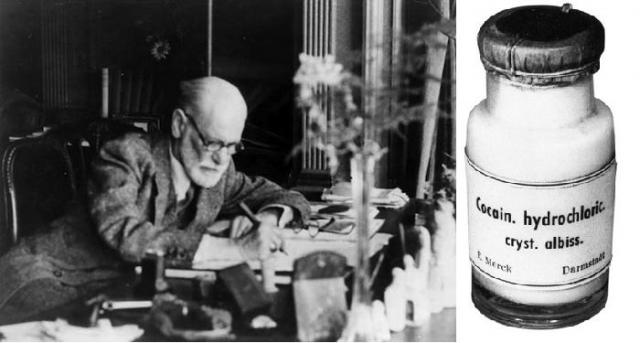 """В молодости Зигмунд даже дал обещание своей невесте Марте, что когда-нибудь обязательно напишет книгу про кокаин: """"Я принимаю его в очень небольших дозах каждый день, чтобы не было депрессии и для хорошего пищеварения, с огромным при этом успехом""""."""