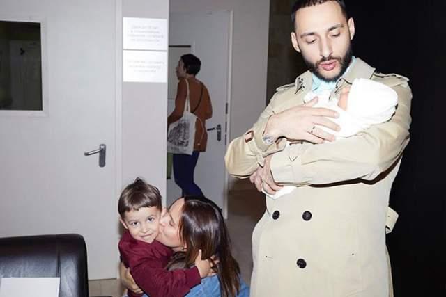 Через три года после свадьбы у Ани и Левана появился сын Миша, а в 2017 году – дочка Софико.