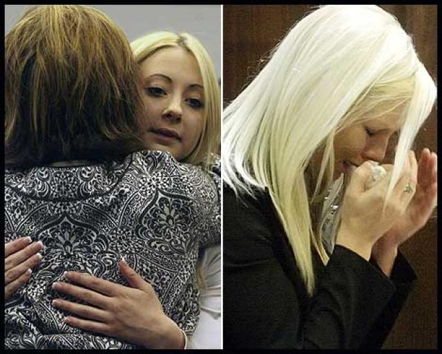 Миллер получила 2 года лишения свободы, а Джонстон - 10 лет условно за то, что первой согласилась сотрудничать с правоохранительными органами.