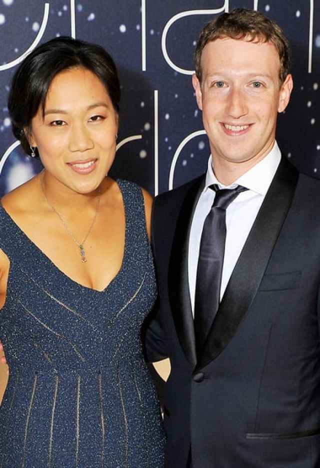 Марк Цукерберг. Основатель Facebook и его супруга Присцилла начали встречаться в 2003 году во время учебы в Гарвардском университете.