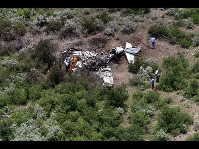 В результате падения самолета никто не выжил.