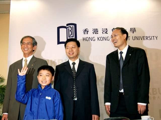 Марк Тянь Боэдихарджо Китайский мальчик, родившийся в Гонконге, оказался самым молодым человеком, поступившим в Гонконгсикий университет - на тот момент ему было всего 9 лет. Общение Марка шло по специальной программе, с усиленным изучением математики и статистики.