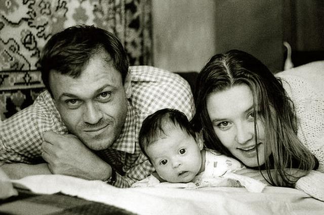 Владимир Меньшов и Вера Алентова. Пара поженилась еще на втором курсе института.