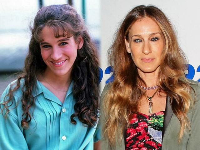 Сара Джессика Паркер. Внешность актрисы остается нестандартной даже после того, как в 30 лет она сделала пластику носа.