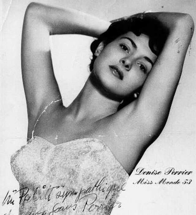 Дениз Перье (Франция) - Мисс мира 1953.