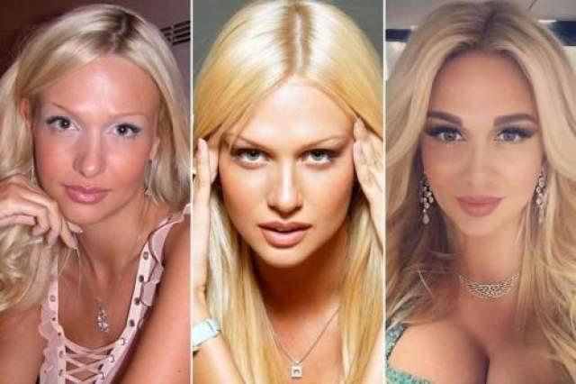 Судите сами: Лопырева до славы (слева), на пике модельной карьеры (в центре) и сегодня.