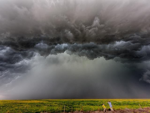Грозовые тучи в Техасе. Christopher Evans