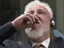 Хорватский генерал выпил яд на заседании трибунала в Гааге после оглашения приговора