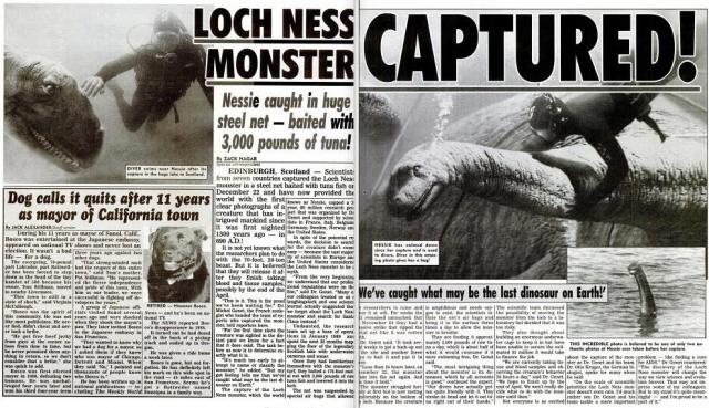В 2003 году группа специалистов, направленных Би-би-си, с помощью 600 звукоизлучателей провела полное исследование озера и не нашла в нём ничего необычного. Впрочем, это не помешало английским бульварным изданиям заработать на тиражах, материлизовав в доходы возросший интерес читателей к Несси.