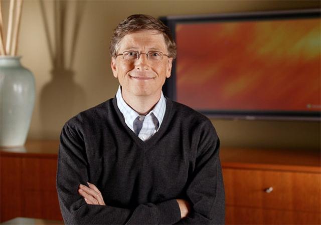 Билл Гейтс. Оказывается, Джобс ошибался, и Гейтс все же пробовал кислоту, но не распространялся о сомнительных опытах.
